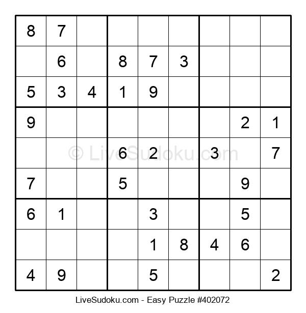 Beginners Puzzle #402072