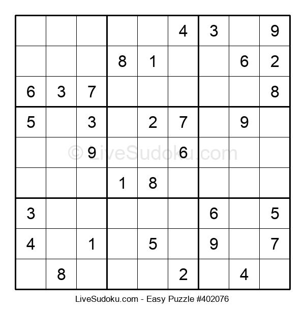 Beginners Puzzle #402076
