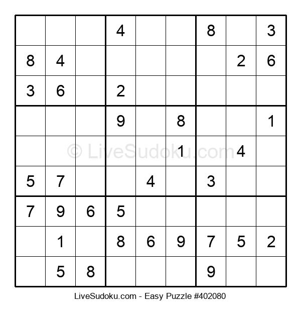 Beginners Puzzle #402080