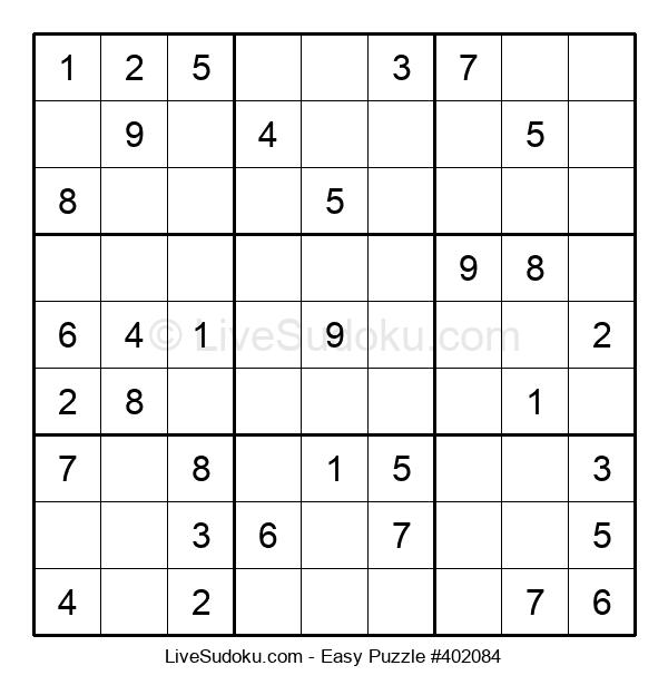 Beginners Puzzle #402084