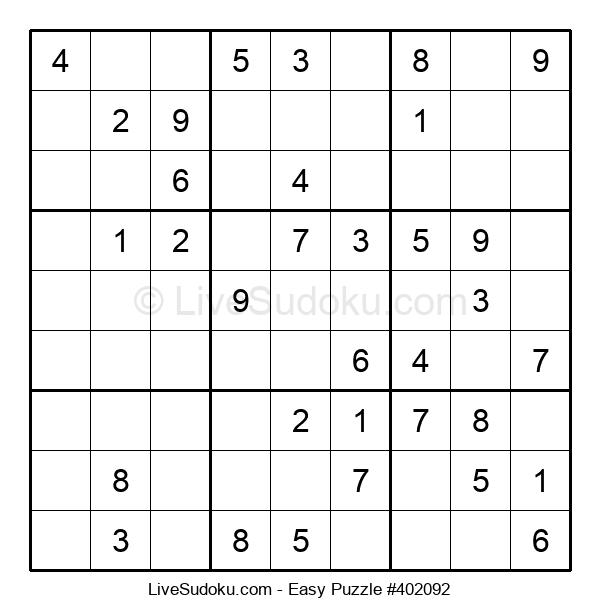 Beginners Puzzle #402092