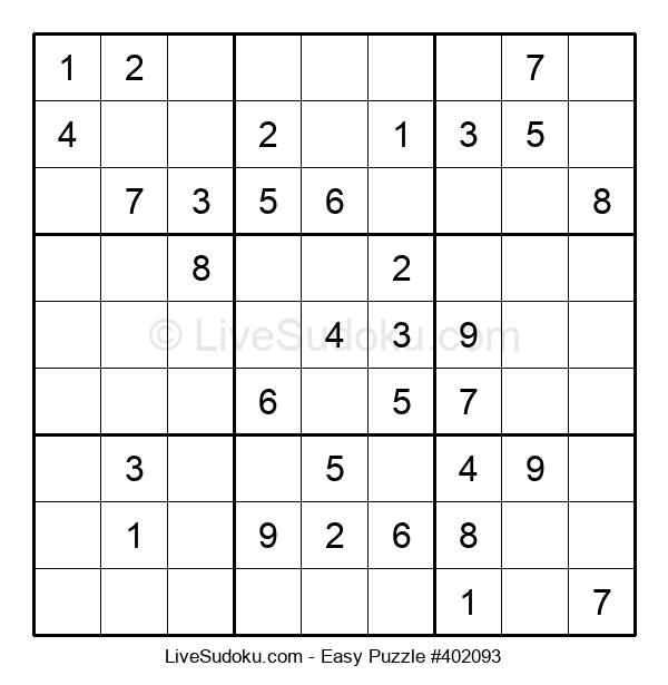 Beginners Puzzle #402093