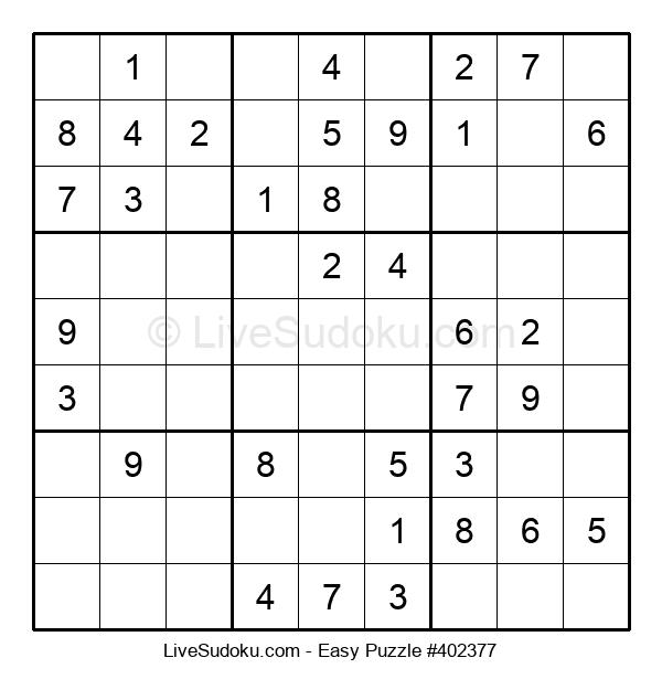 Beginners Puzzle #402377