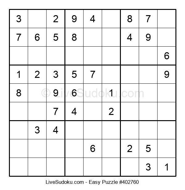 Beginners Puzzle #402760