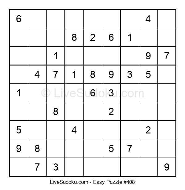 Beginners Puzzle #408