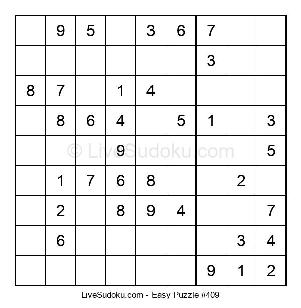 Beginners Puzzle #409