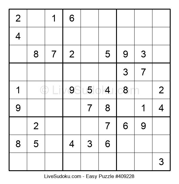 Beginners Puzzle #409228