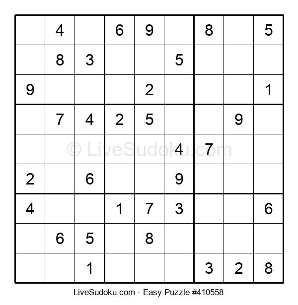 Beginners Puzzle #410558