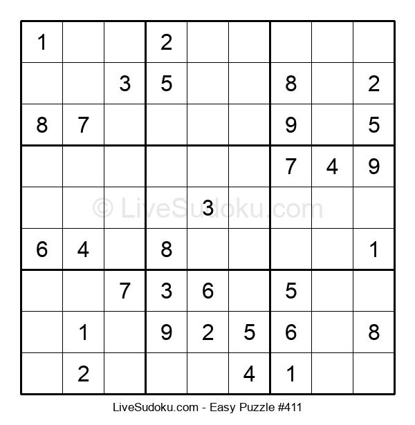 Beginners Puzzle #411