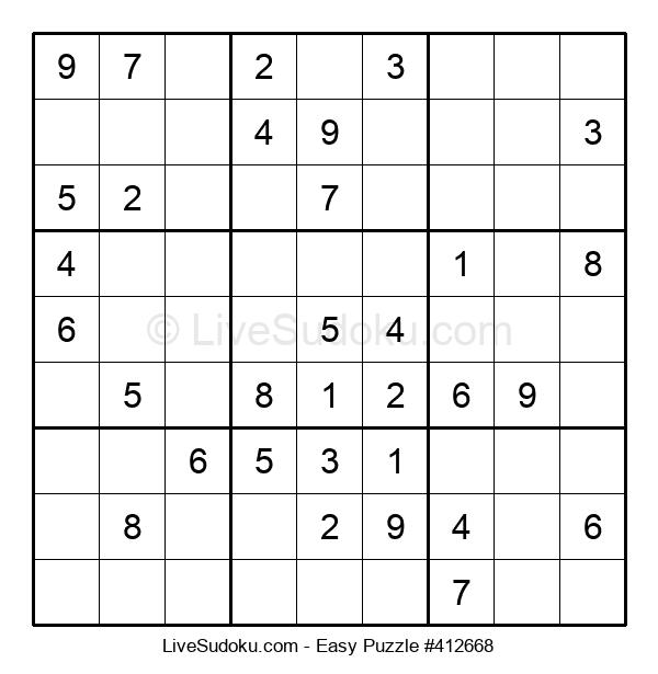 Beginners Puzzle #412668