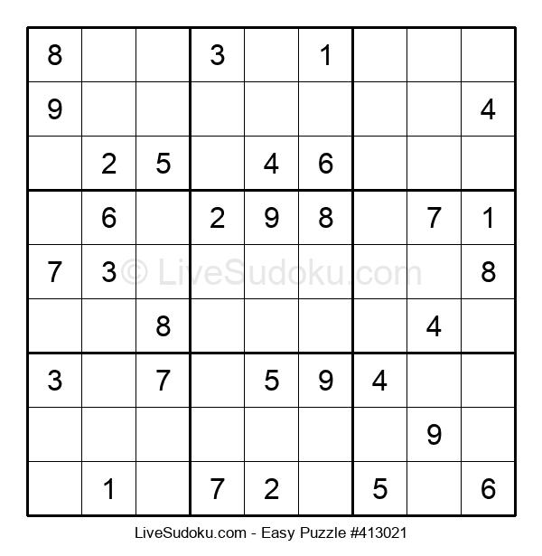 Beginners Puzzle #413021