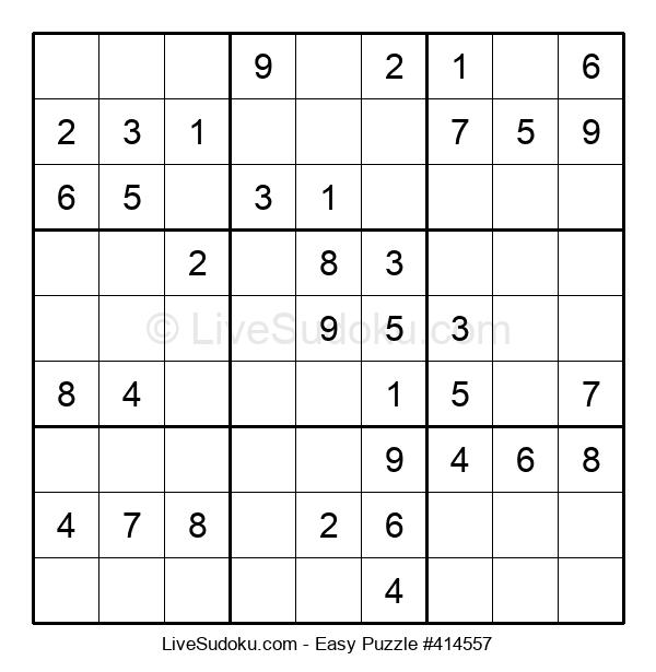 Beginners Puzzle #414557