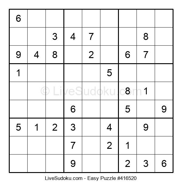Beginners Puzzle #416520