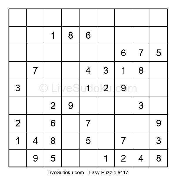 Beginners Puzzle #417