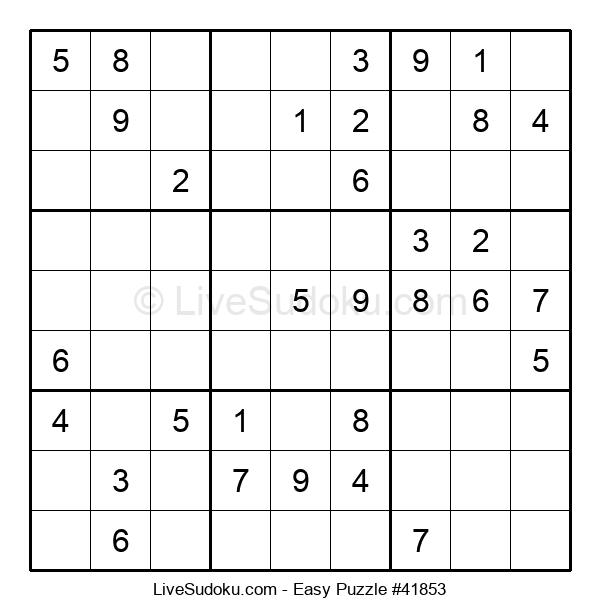 Beginners Puzzle #41853