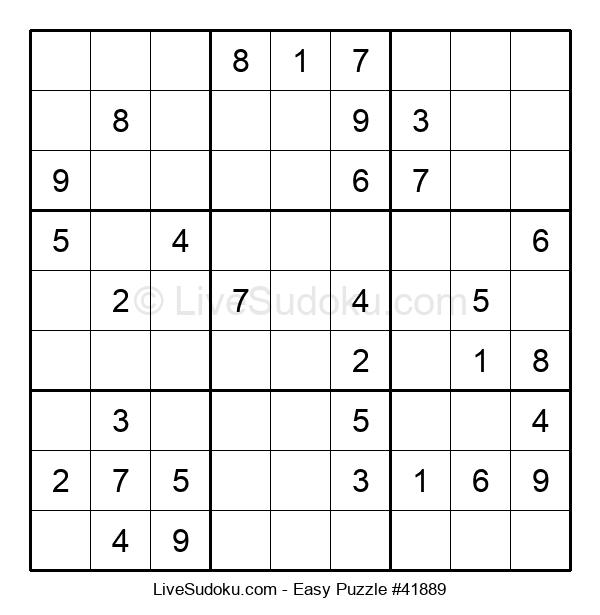 Beginners Puzzle #41889