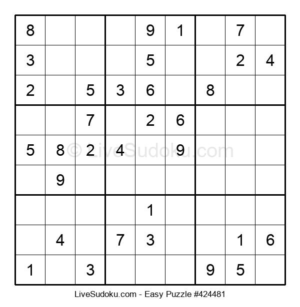 Beginners Puzzle #424481