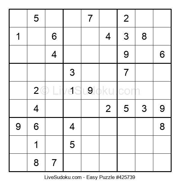 Beginners Puzzle #425739