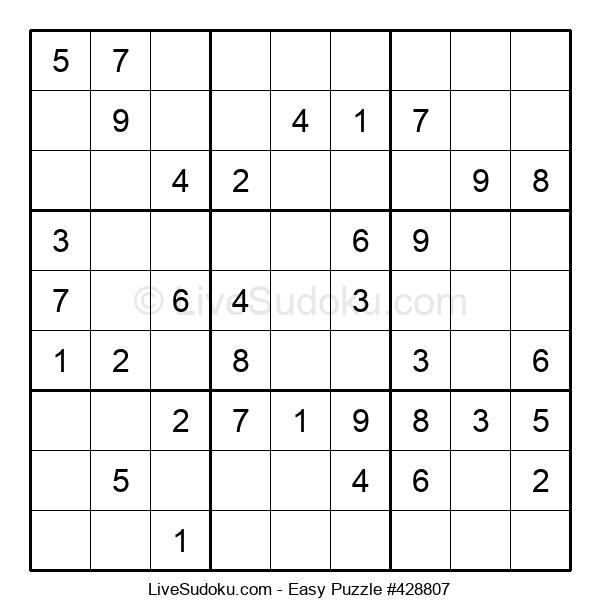 Beginners Puzzle #428807