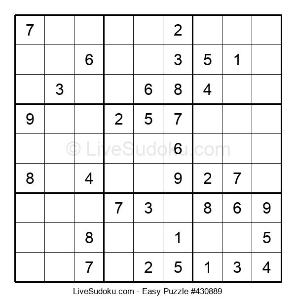 Beginners Puzzle #430889