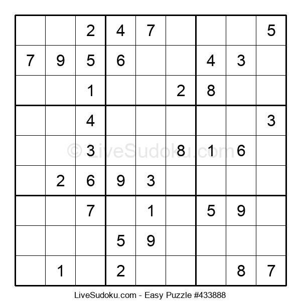 Beginners Puzzle #433888
