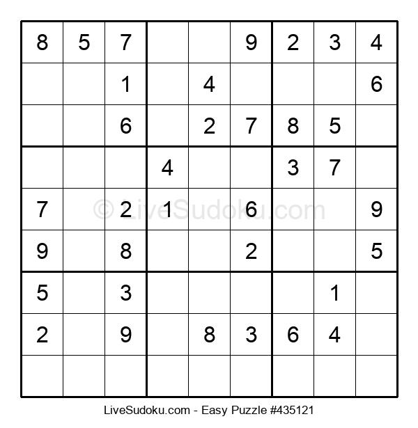 Beginners Puzzle #435121