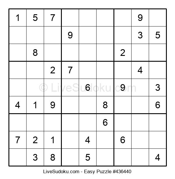 Beginners Puzzle #436440