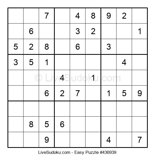 Beginners Puzzle #436939