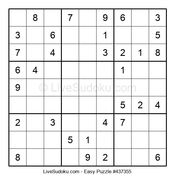 Beginners Puzzle #437355