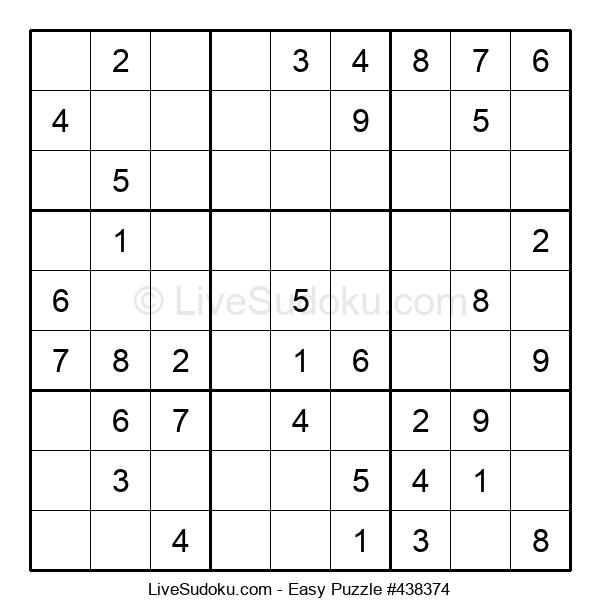 Beginners Puzzle #438374