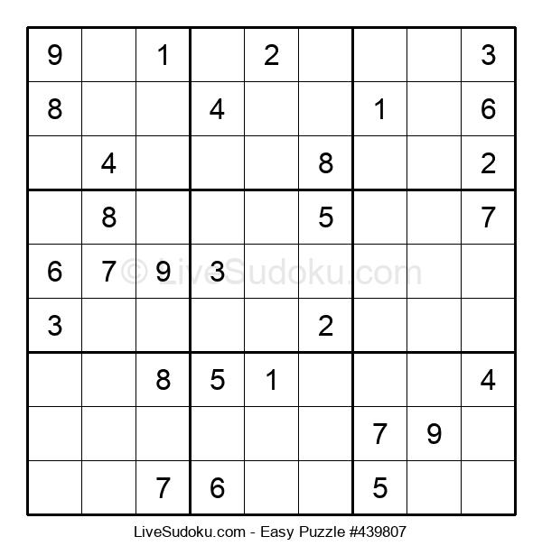 Beginners Puzzle #439807