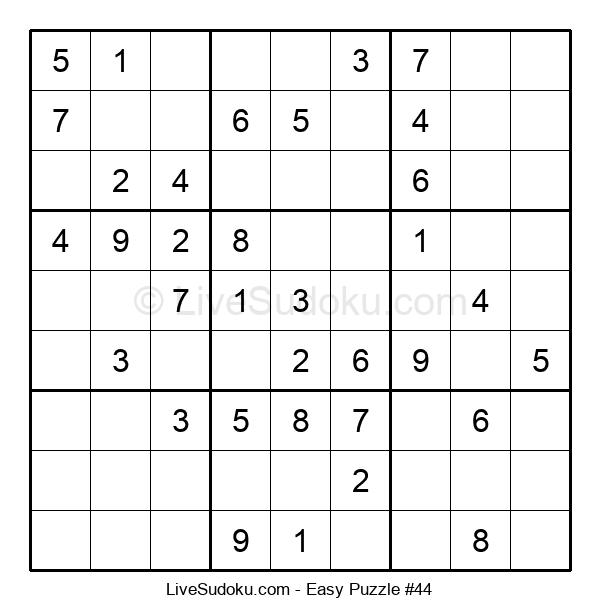 Beginners Puzzle #44