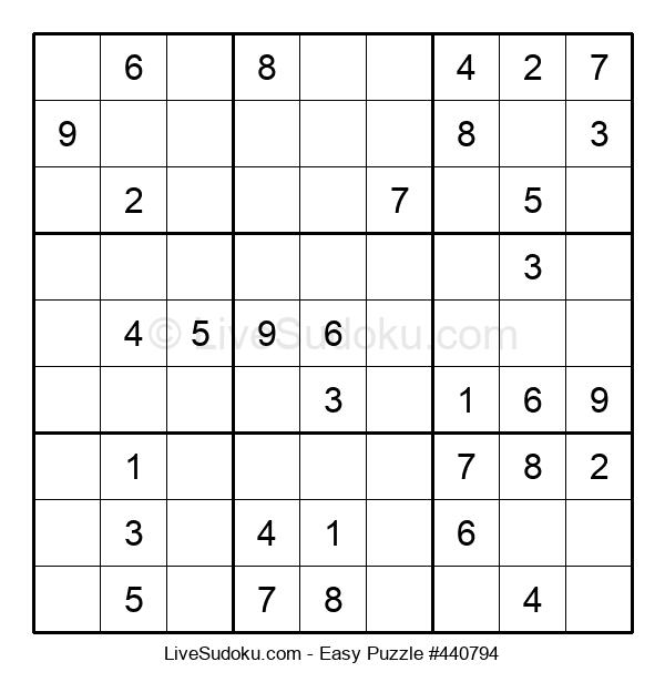 Beginners Puzzle #440794
