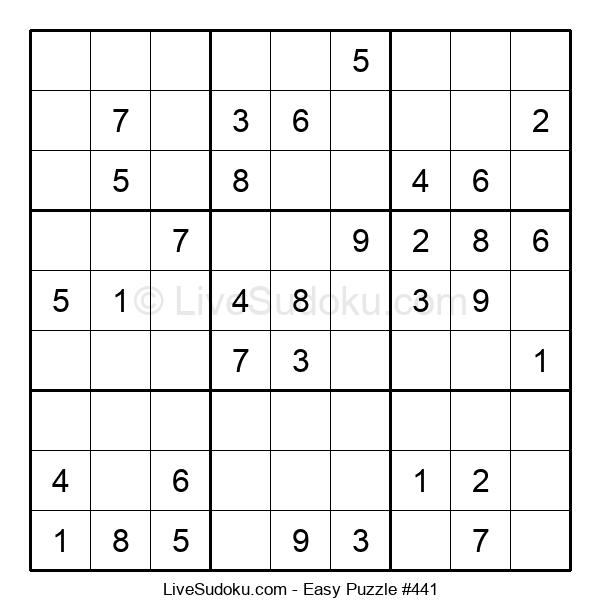 Beginners Puzzle #441