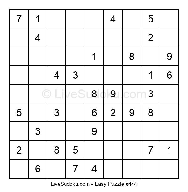 Beginners Puzzle #444