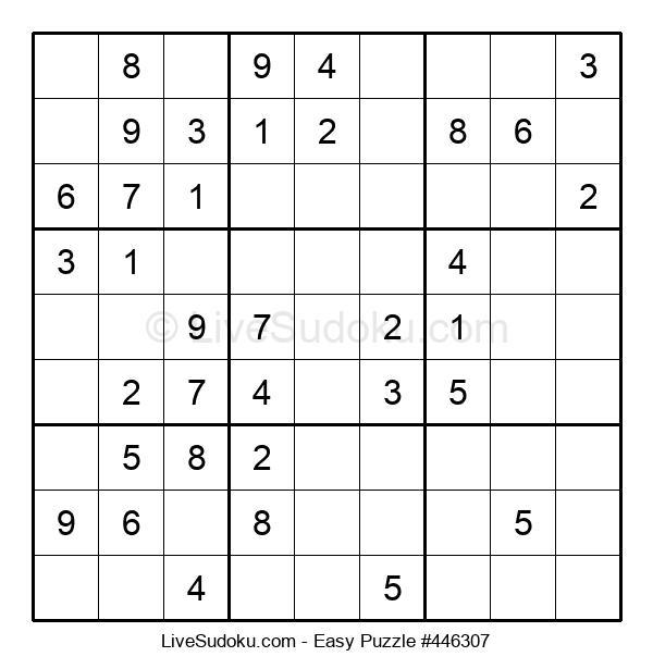 Beginners Puzzle #446307