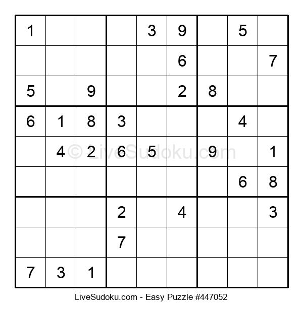 Beginners Puzzle #447052