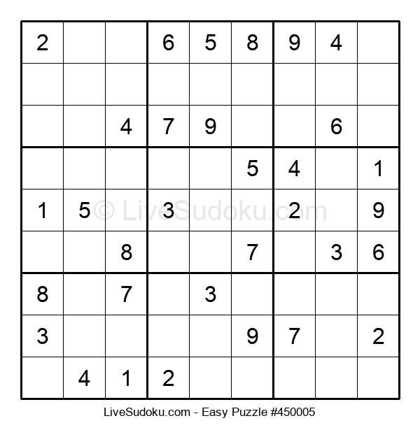 Beginners Puzzle #450005