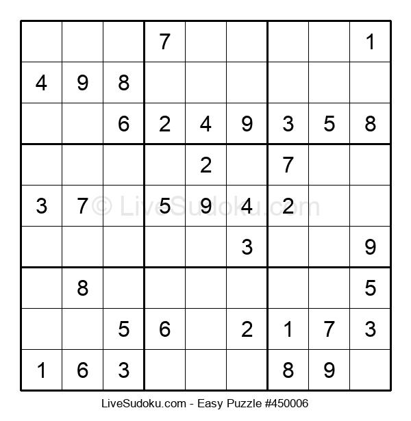 Beginners Puzzle #450006