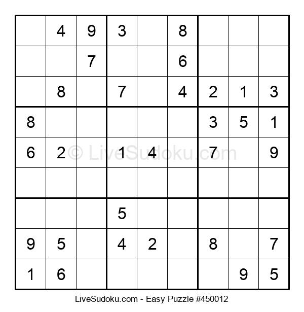 Beginners Puzzle #450012