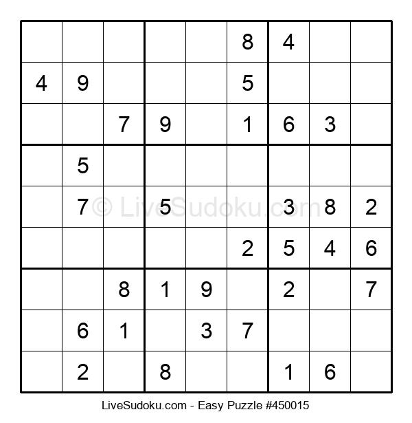 Beginners Puzzle #450015