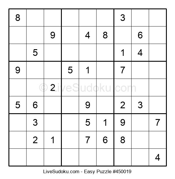 Beginners Puzzle #450019