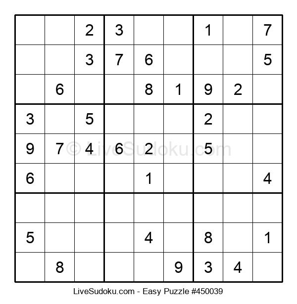 Beginners Puzzle #450039