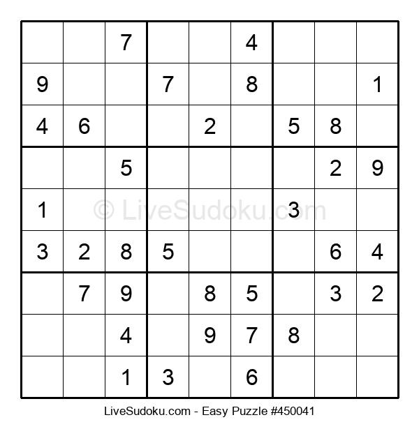 Beginners Puzzle #450041