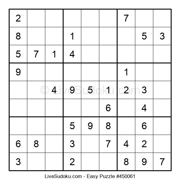 Beginners Puzzle #450061