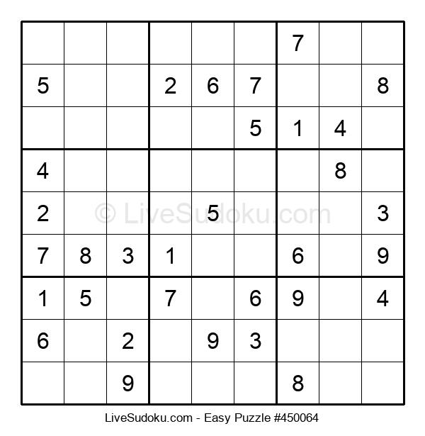 Beginners Puzzle #450064