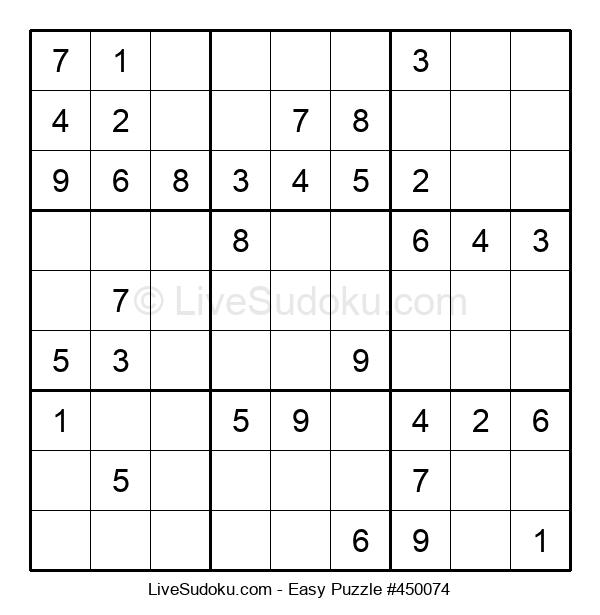 Beginners Puzzle #450074