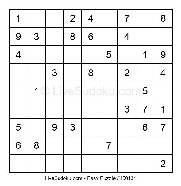 Beginners Puzzle #450131