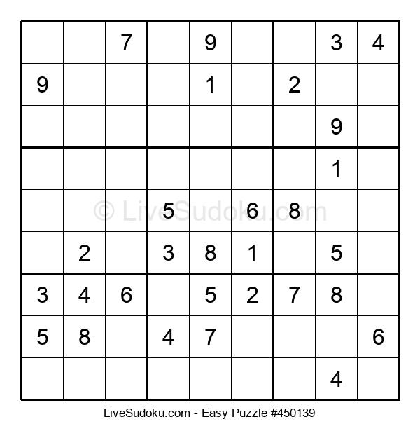 Beginners Puzzle #450139