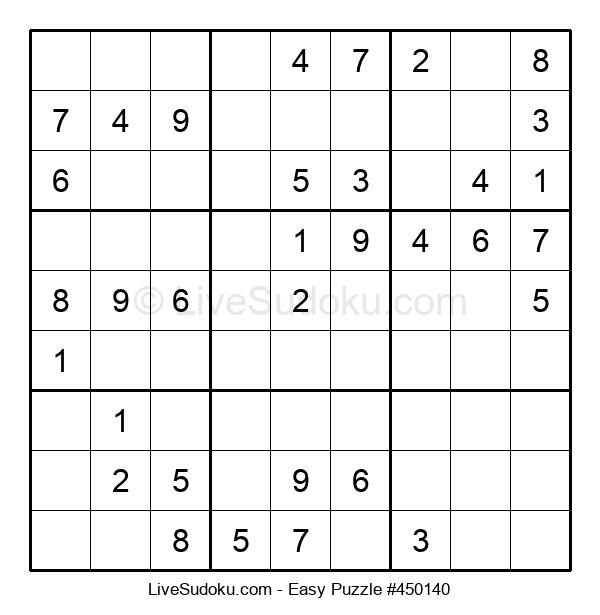 Beginners Puzzle #450140
